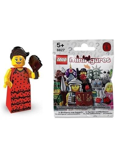 Lego Lego Minifigür - Seri 6 - 8827 - Flamenco Dancer Renkli